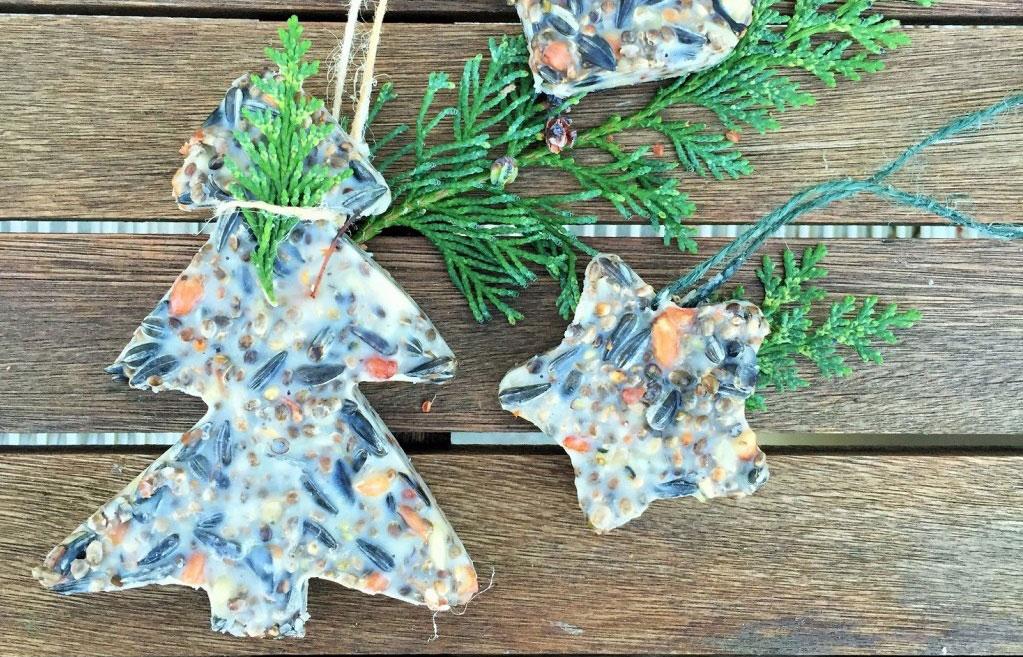 Egen hammagjord fågelmat - roligt pyssel på jullovet