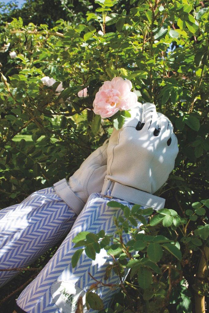 Julklapp för trädgårdsintresserade - Rosenhandsken Rosie