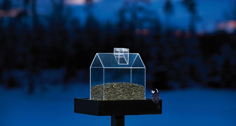 Julklapp till trädgårdsintresserad eller fågelintresserad- Fågellbordet Twilight.