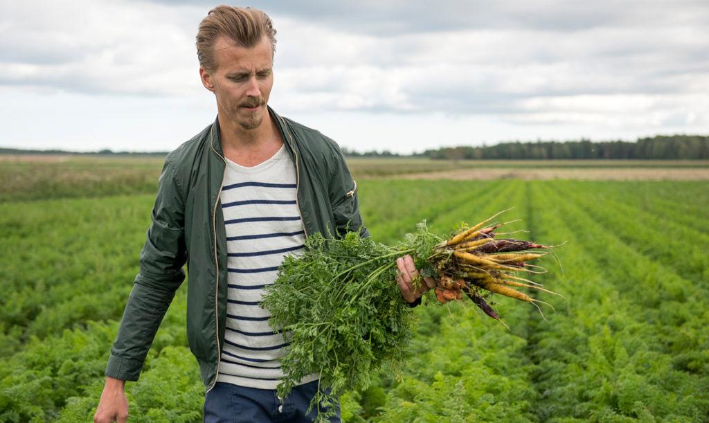 Paul Svensson älskar egenodlat