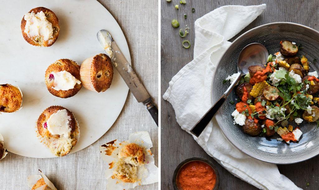 Recept med rabarber och potatis