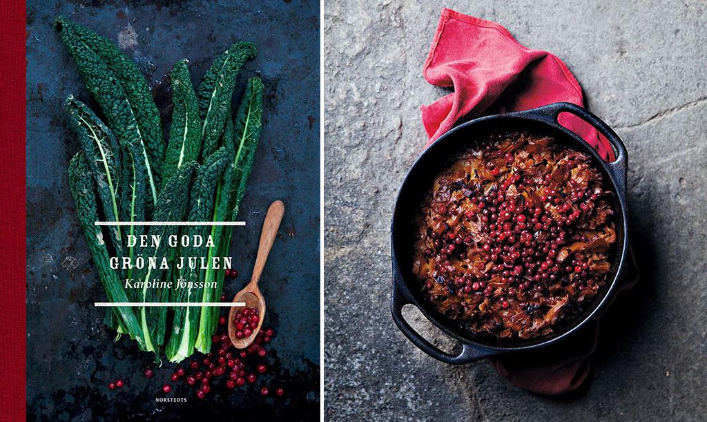 I kokboken Den goda gröna julen hittar vi recept på klassiska julrätter i grönare tappning. Recept på kolpuddingen finner du nedan! Foto: Foto: Karoline Jönsson