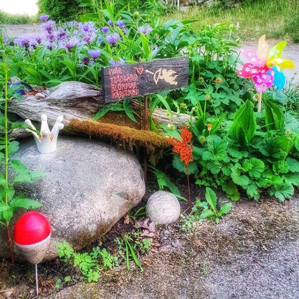 Hemma hos @livssugen blommar kärleken – och lekfullheten!