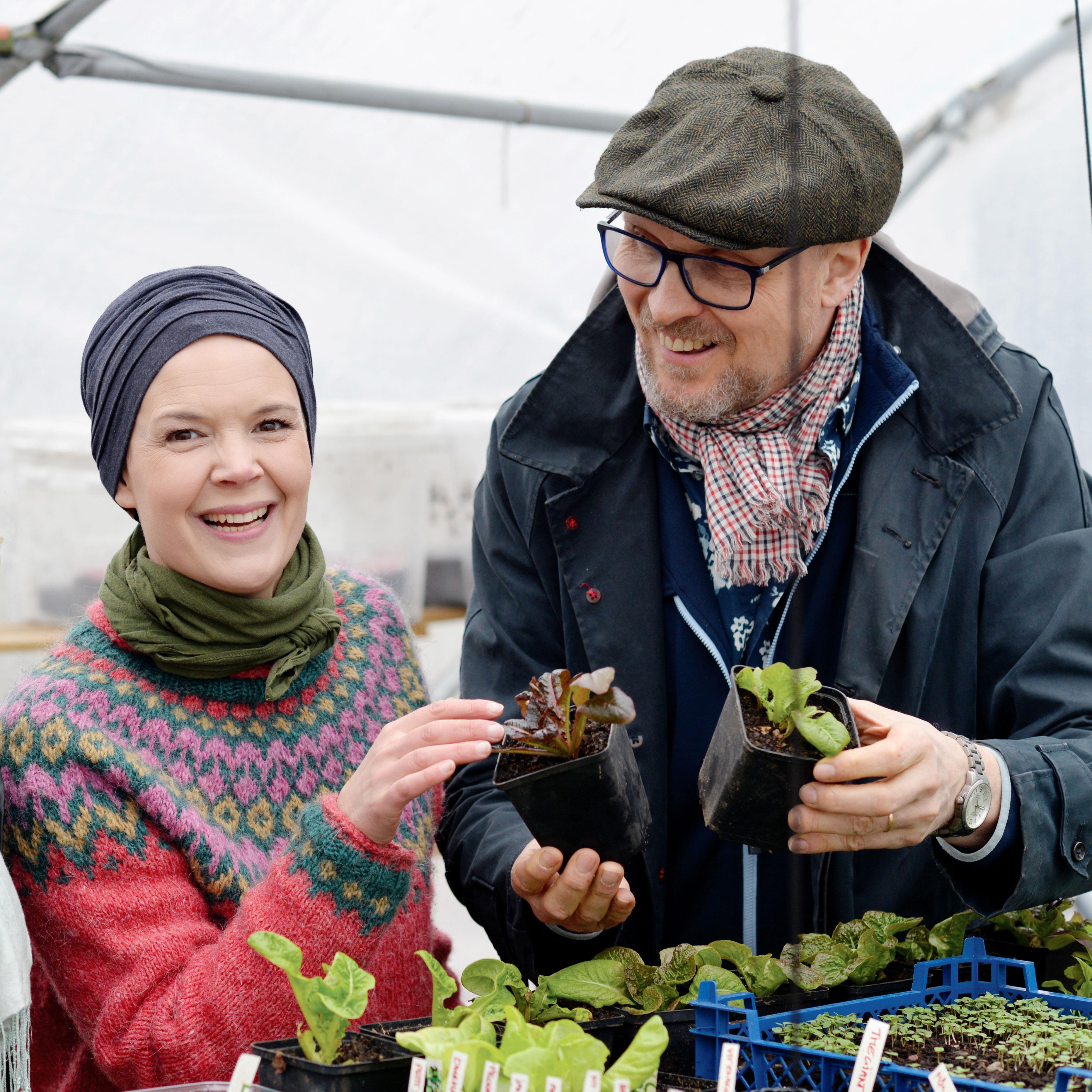 Sara Bäckmo, Skillnadens Trädgård och Ulf Fransson, Nelson Garden. Foto: Markus Danielsson