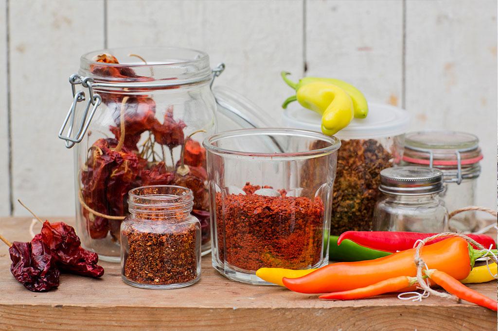 Det är enkelt att bli självförsörjande på chili! Foto: Annika Christensen