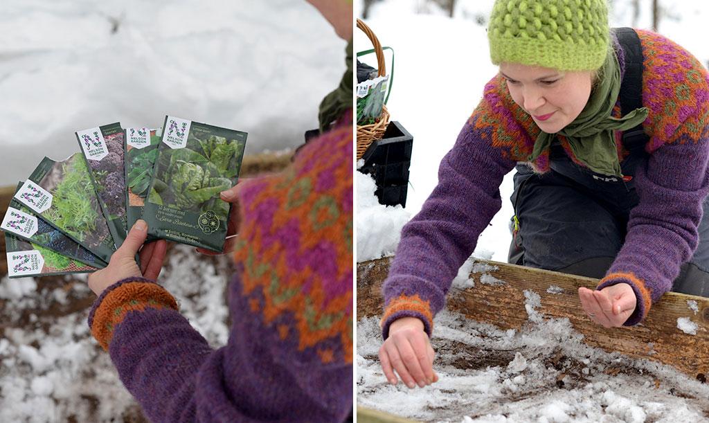 Tävlingen pågår hela 2019. och du har gott om tid att dela med dig av din skörd. Gör som Sara Bäckmo – så redan i vinter! Foto: Markus Danielsson