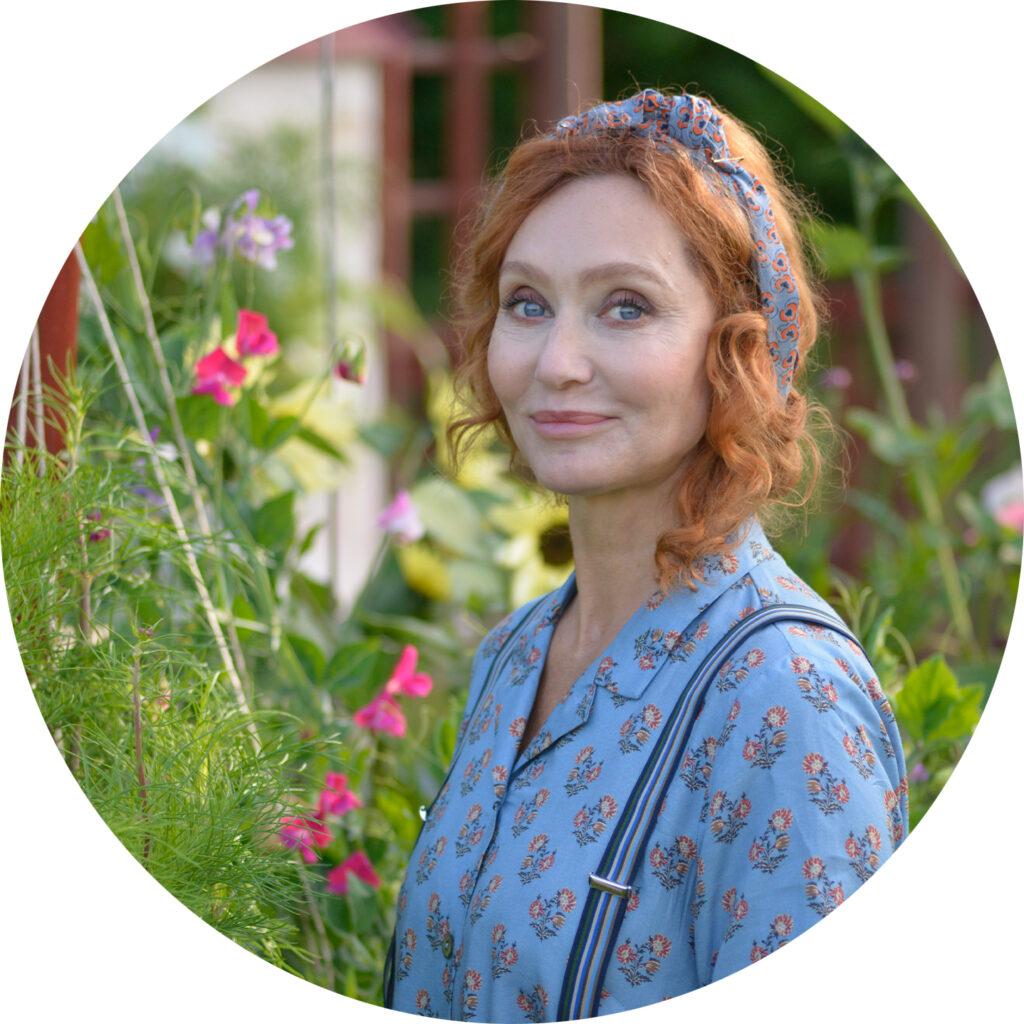 Linda Schilén känd från Nyhetsmorgon sitter i år med i juryn i #minsommarbukett.